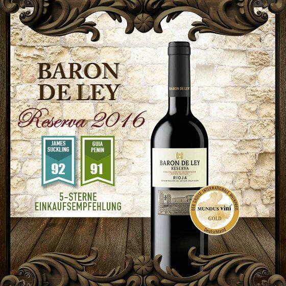 Baron de Ley Reserva 2016 - Einkaufsmepfehlung