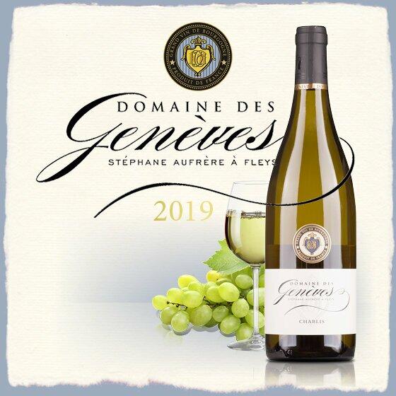Domaine des Geneves Chablis - fruchtig, trockenen Wein mit herrlicher Frische