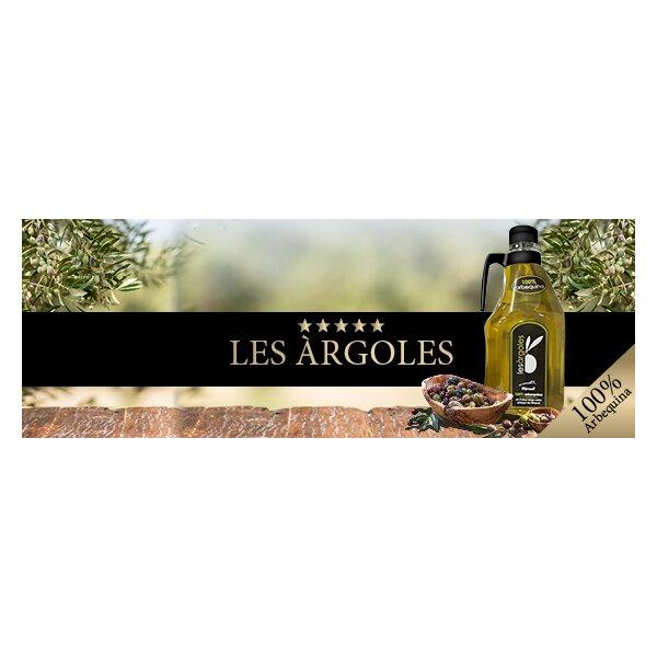 2 Liter Les Argoles Oli dOliva verge extra arbequi de Miravet